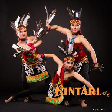 kayau-indonéský z Kalimantanu